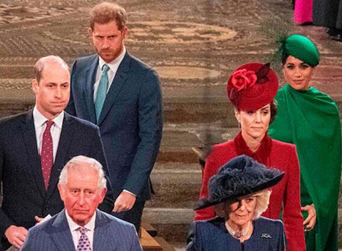 Meghan Markle - Prens Harry...SON GÖREVDE VIP'TEN ÇIKARILDILAR!