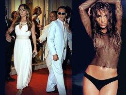 Jennifer Lopez... KOCASI İLE İÇ ÇAMAŞIRI KOLLEKSİYONUNU TANITTI...