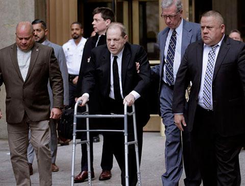 Harvey Weinstein...TACİZ VE TECAVÜZ CEZASINDAN SONRA KORONAVİRÜSE YAKALANDI!