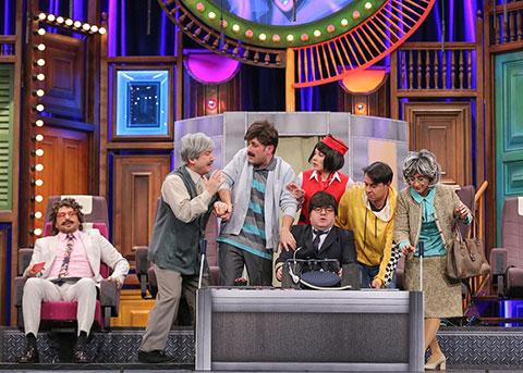 Güldür Güldür Show...PİLOT ŞEVKET'İN İLK UÇUŞU!