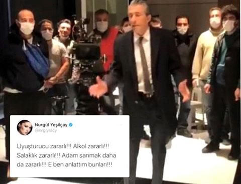 Erkan Petekkaya...'NURGÜL BANA SÖYLEMEMİŞTİR!'
