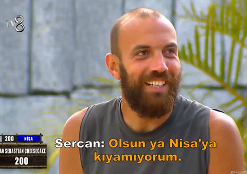 Survivor 2020...OLAY AÇIK ARTTIRMA, SERCAN NEREDEYSE İLAN-I AŞK ETTİ!