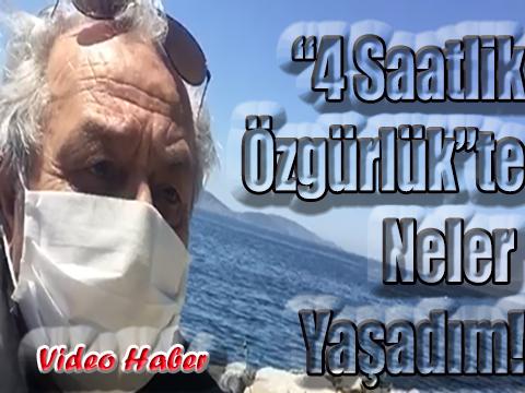 """MAGAZİNKOLİK.COM KÖŞE YAZARI UĞUR GÜNERİ'NİN """"4 SAATLİK ÖZGÜRLÜĞÜ!"""""""
