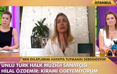 Hilal Özdemir...'KİRAMI ÖDEYEMEDİM, KIZILAY'DAN YARDIM ALDIM!'