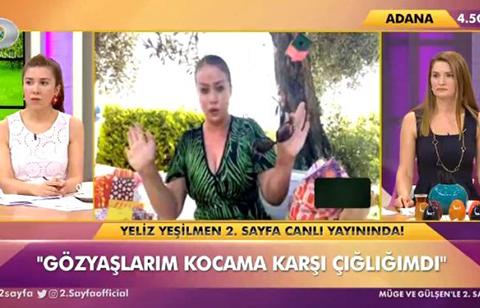 Yeliz Yeşilmen Akbaş... ÜSTÜ ÖRTÜLÜ ŞİDDET İTİRAFI; 'HER EVLİLİKTE ŞİDDET OLUYOR!'