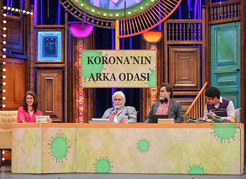 Güldür Güldür Show... 'CORONA'NIN ARKA ODASI!