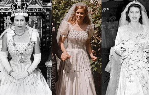 Kraliçe II. Elizabeth... HEM TACINI, HEM ELBİSESİNİ DÜĞÜN İÇİN VERDİ!