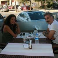 Tamer Karadağlı-Azra Akın... BİRLİKTE KAHVE İÇTİLER!