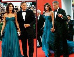 George Clooney-Elisabetta Canalis... YILIN AŞKI KIRMIZI HALIDA...