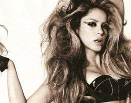Shakira...MADONNA'YA ÖZENDİ FETİŞ POZLAR VERDİ....