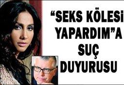 """ROJİN'DEN """"SEKS KÖLESİ YAPARDIM"""" A SUÇ DUYURUSU..."""