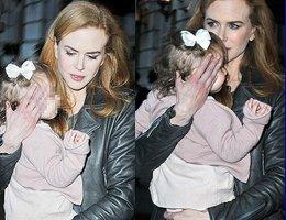Nicole Kidman...PAPARAZZİLERLE SAKLAMBAÇ OYNADI....