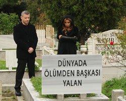 Yıldız Usmonova... MEZARLIKTA KLİP ÇEKTİ!