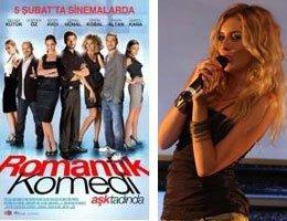 Sinem Kobal...''ROMANTİK KOMEDİ ''DE ŞARKI SÖYLÜYOR!....