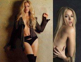 Shakira...SÜTYENİNİ ÇIKARDI KÜLODUNU ÇIKARMADI!....