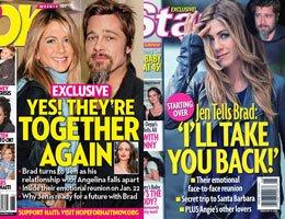 Angelina-Brad-Jennifer...KİMİN ELİ KİMİN CEBİNDE BELLİ DEĞİL!...