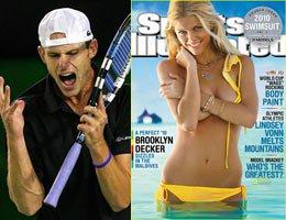 Tenisci Andy Roddick...''KARIMLA GURUR DUYUYORUM!''...