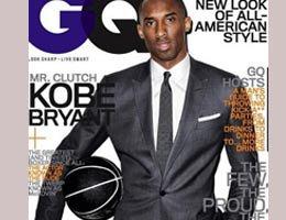 Kobe Bryant...KRAVATLI KOBE GQ DERGİSİNDE KAPAK!....