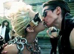 flaş.../Lady Gaga son klibinde de  uslanmadı...  AHLAKSIZLIK DİZ BOYU!...