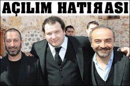Cem Yılmaz-Şahan Gökbakar-Yılmaz Erdoğan... AÇILIM POZU VERDİLER!