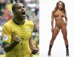 özel haber.../Brezilya'lı Adriano...SEKSİ JOANA FORMA SOKACAK!...
