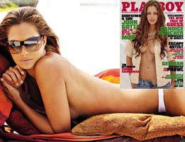 Candice Boucher...PLAYBOY, GUESS'İN YENİ MODELİNİ SOYDU!....