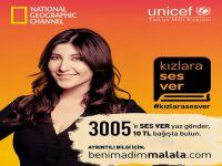 """""""Kızlara Ses Ver""""...ÜNLÜ İSİMLER, """"UNICEF""""İN KAMPANYASI İÇİN BİRARADA!.."""