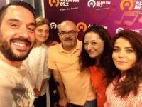 Sanat Cafe... 'BOL ŞANS' FİLMİNİN OYUNCULARINI KONUK ETTİ!