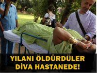 Bülent Ersoy... HİNDİSTAN'DA YILAN SOKTU!..-video-