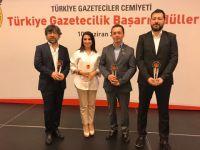 TGC BAŞARI ÖDÜLLERİ'NDE CİNER MEDYA GRUBU'NA 7 ÖDÜL BİRDEN!