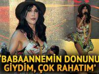 Hande Yener... BABANESİNİN DONUYLA SAHNEYE ÇIKTI!