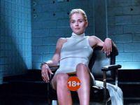 Sharon Stone... ÖYLE BİR POZ VERDİ Kİ!...
