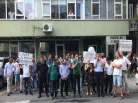 BEŞİKTAŞ ESNAFI DİGİTÜRK'Ü PROTESTO ETTİ!