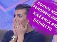 """""""SOSYAL MEDYA FENOMENLERİNİN AYLIK KAZANÇLARI DUDAK UÇUKLATTI!"""""""