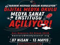 Medya Sanat Enstitüsü... UYGULMALI EĞİTİMLERE BAŞLIYOR!..
