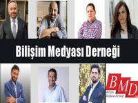 BİLİŞİM MEDYASI DERNEĞİ'NDE (BMD) YENİ DÖNEM...
