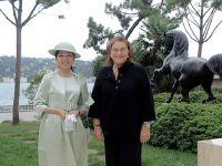 Güler Sabancı - Japonya Altes Prensesi Akiko... DEDELERİN BAŞLATTIĞI DOSTLUK!
