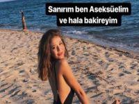 """Sosyal medya fenomeni Merve Taşkın'dan olay itiraf... """"BAKİREYİM""""!.."""