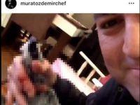 MasterChef yarışmacısı Murat Özdemir... VAHŞET GÖRÜNTÜLERİNE, ÜNLÜLERDEN LANET YAĞDI!