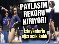 Katelyn Ohashi... MİCHAEL JACKSON'U JİMNASTİK MİNDERİNE TAŞIDI!..