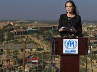 Angelina Jolie... ARAKAN'LI MÜSLÜMANLARIN KAMPLARINI ZİYARET ETTİ!..