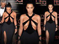 Kim Kardashian... DEKOLTE ÖTESİ!..