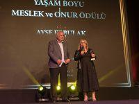 Ayşe Erbulak... ÖDÜL SEVİNCİ!