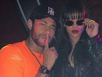 Neymar-Rihanna... PAZAR GECESİ ATEŞİ!..