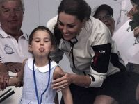 Prenses Charlotte...PRENSES DE OLSA O BİR ÇOCUK, HALKA DİL ÇIKARDI!
