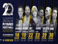 Uluslararası Antalya Piyano Festivali... BAŞLIYOR!..