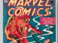 Marvel'in ilk çizgi romanı.. DUDAK UÇUKLATAN FİYAT!.. 1.26 MİLYON DOLAR...