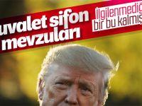 Donald Trump... ŞİMDİ DE GÜNDEMİNDE TUVALET SİFONLARI VAR!..