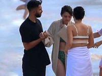 Selena Gomez...HAWAİİ SAHİLİNDE DENİZANASI ŞOKU!