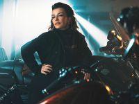 Fatma Turgut...MOTORSİKLET ÜZERİNDE 4 SAAT!